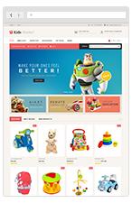 Kids Market - Magento Responsive Theme