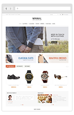 Fresh Market - Responsive VirtueMart Template