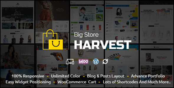 Download Fashion Feast – WooCommerce Responsive Theme nulled harvest