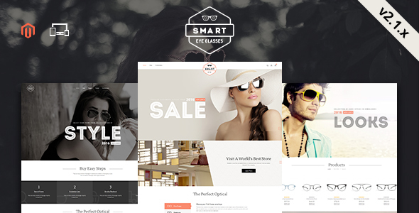SmartEye2 - Smart Shop - Responsive Magento 1 & 2 Theme