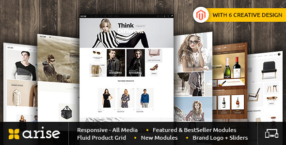 arise - Smart Shop - Responsive Magento 1 & 2 Theme