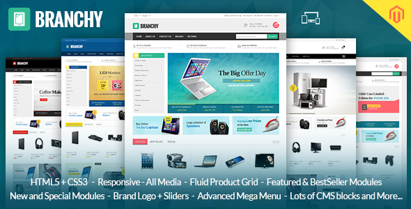branchy - Catchy - Multipurpose Magento Theme
