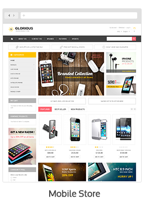 theme 03 - Glorious - Magento Responsive Theme