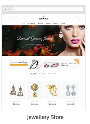 theme 05 - Glorious - Magento Responsive Theme