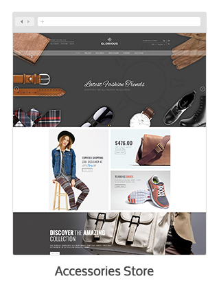 theme 06 - Glorious - Magento Responsive Theme