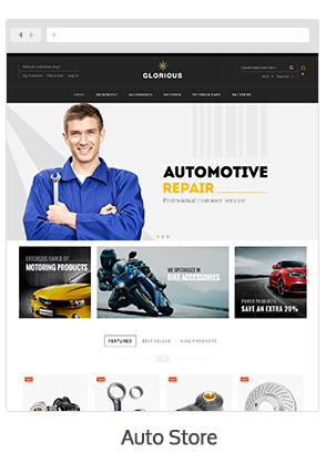 theme 07 - Glorious - Magento Responsive Theme