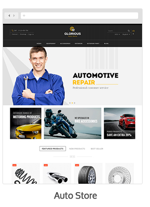 Glorious - Prestashop Responsive Theme