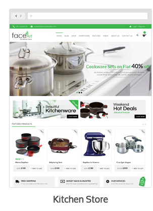 Face Art - WooCommerce Responsive Theme