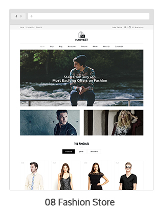 Harvest - Multipurpose WooCommerce Theme